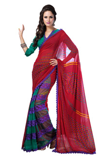 Printed Designer Saree,Latest Saree,Buy Online Shopping,Saree With Blouse ,Indian Printed Sari