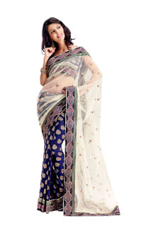 Net Saree,Latest Saree,Bollywood Saree, Wedding Saree,Embroidered Saree