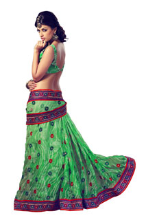 Bollywood Designer New style Full net and Brasso Saree